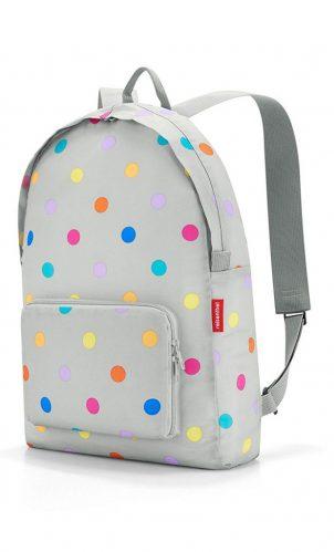 mochila de lunares para portatil